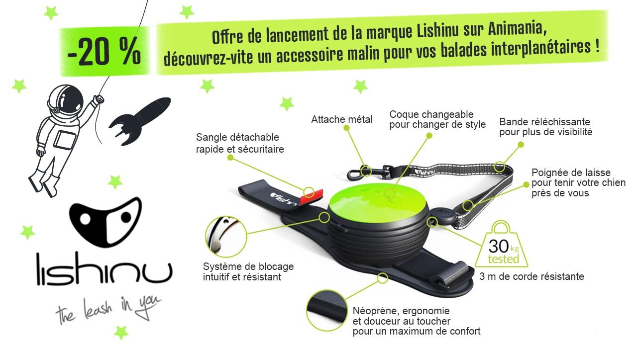 Pour le lancement de la marque Lishinu, profitez de -20% !
