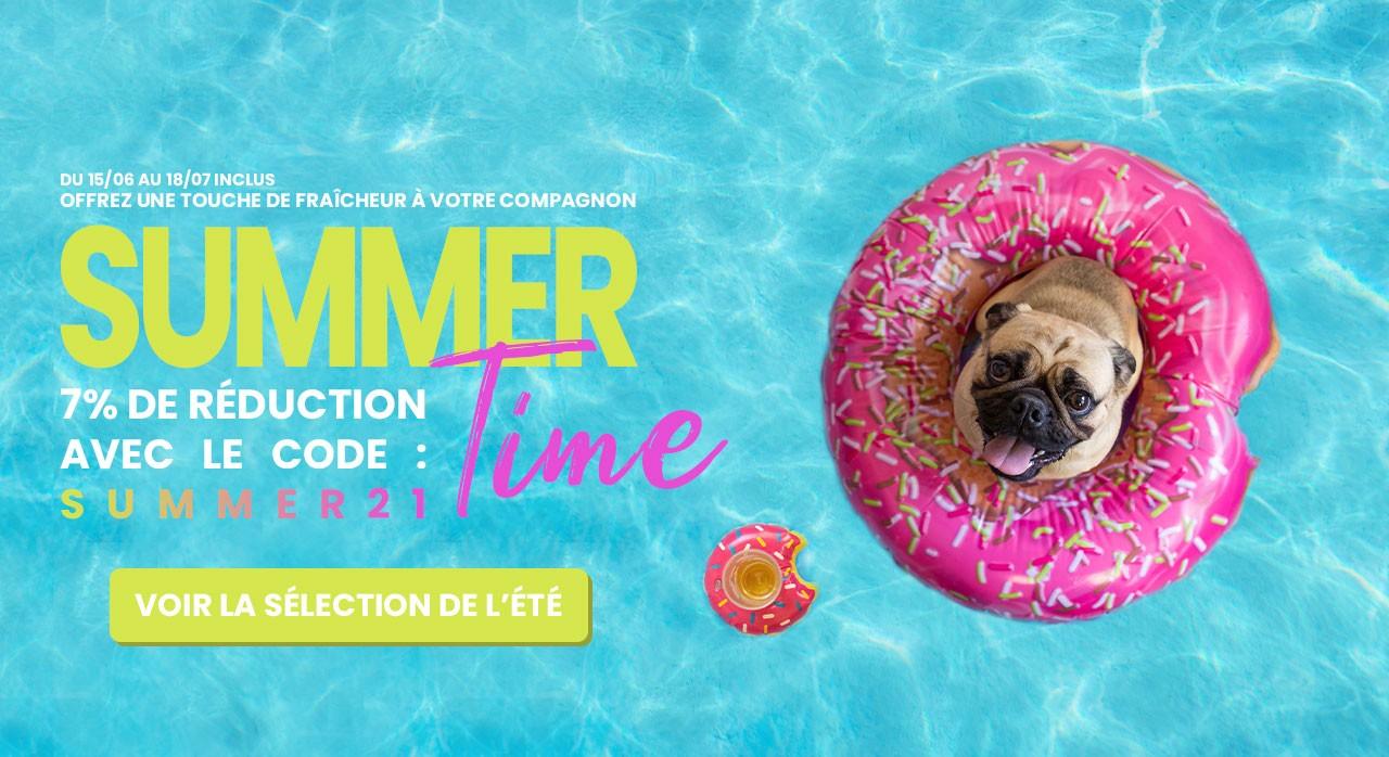 Summer 2021 - sélection d'accessoire pour chien et chat pour l'été 2021